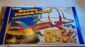 Tyco Super Turbo Train set