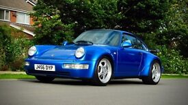 Porsche 911 Turbo (blue) 1991