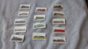 Railway Engines Trading Cards