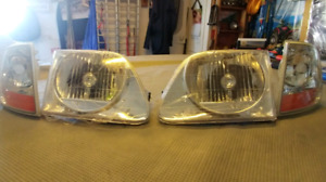 Ford F150 SVT headlights and signals