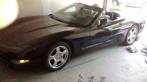 1998 Chevrolet Corvette Black Convertible