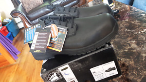 Brand new. Men's size 14 steel toe shoes.