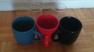 3-Mug set