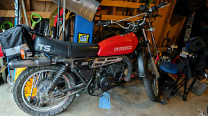 1978 suzuki ts250 and parts bike