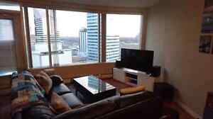 Roommate wanted for 2 bed/2 bath downtown condo in Icon Tower Edmonton Edmonton Area image 3