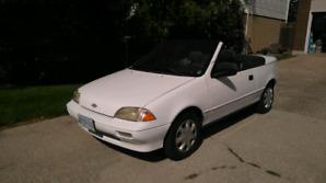 1991 Chevrolet Sprint Convertible