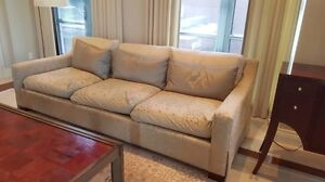 3 cushion beige couch