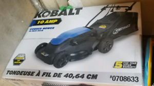 Kobalt 16-in 10 Amp Corded Electric Push Lawn Mower (2-in-1)
