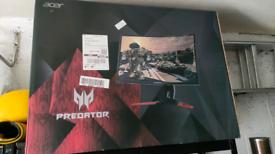 32 inch Acer Predator 1440p 165hz G Sync Gaming Monitor