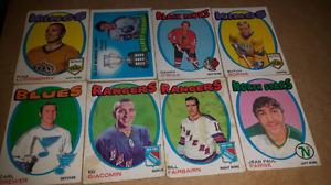 Vintage O-pee-Chee hockey cards