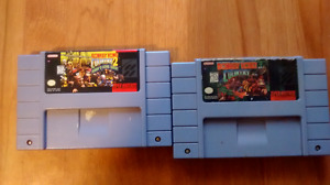 Donkey Kong Country 1 and 2