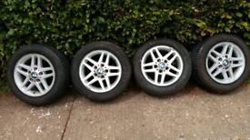 BMW car wheels