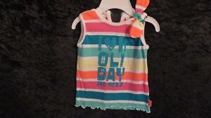 Baby Girl MEXX Multi Colour Top Size 6-9 Mths