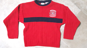 Montreal Canadians sweater size 6x