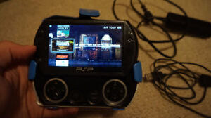 PSP GO with games