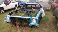 1974 EL CAMINO ROLLING CHASSIS- BODY VERY GOOD