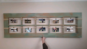 Rustic picture frame!