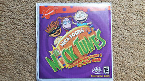Vintage Nicktoons Nick Tunes CD-ROM Game and Microphone, for PC Cambridge Kitchener Area image 2