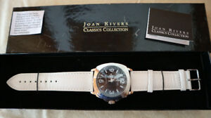 ONLY 1 LEFT - $75 - JOAN RIVERS CLASSICS - QUARTZ WATCH