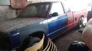 1986 chevy s10 v8 project
