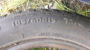$200 OBO 185/60R15 Studded Winter Tires