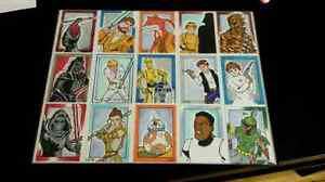 Sketch card art in a frame Star wars, DC, Marvel Peterborough Peterborough Area image 1