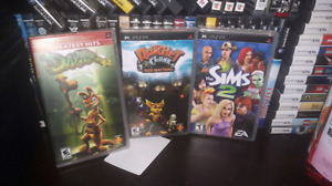 3 psp games for trade