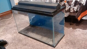 28 Gallon Fish Tank, MANY ACCESSORIES and DECORATIONS INCLUDED!