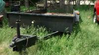 Landscape trailer for sale