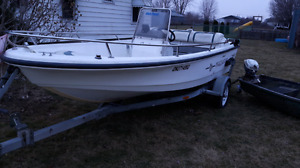Boston whaler jet boat