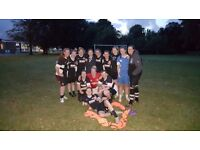 Ladies football team looking for asissant manager Manchester area