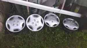 14 inch Ford Escort rims and hubcaps