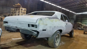Auto body, rust removal and custom paint