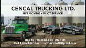Saskatchewan Grain Bin Moving