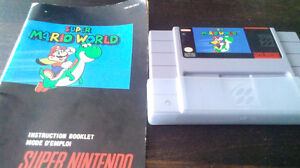SUPER MARIO WORLD +LIVRET SNES