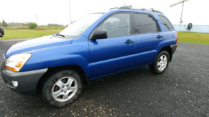 2008 Kia Sportage LX 5spd manual awd