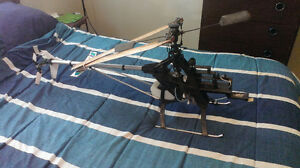REMOTE CONTROL CHOPPER SOLD FOR PARTS.