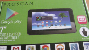 tablette proscan google play 7 pouces