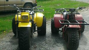 Honda and Yamaha ATV's for sale