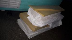 Free pieces of high density foam