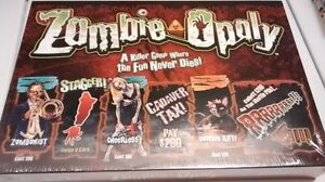 zombie opoly board game NEW