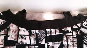 Aldo shoes purse, designer clothing leather look jacket all new.