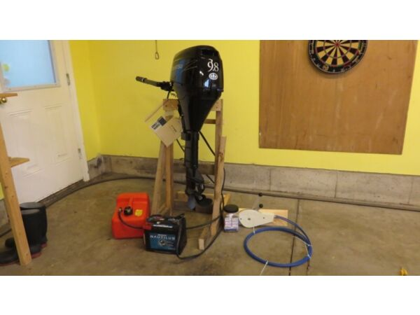 Used 2008 Other Tohatsu 9.8 HP