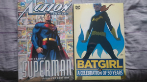 80 years superman and 50 years Batgirl Sealed