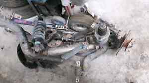 Conversion brake à disque arrière  civic 2001-2005