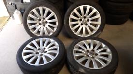 "VAUXHALL 18"" Insignia Elite Alloys Genuine and tyres 18"""