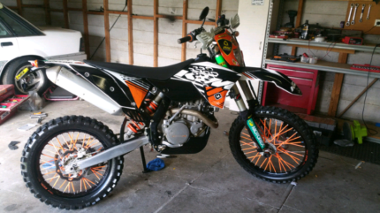 Ktm 530 exc-r 9 months rego new tyres just serviced Newcastle Newcastle Area Preview