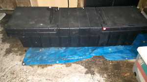 Truck bed storage box