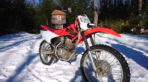 2004 Honda  crf 230 with electric start and ownership