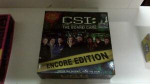 2 Board Games - CSI and Pub Crawler - adult